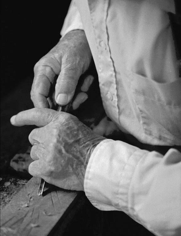 Scholze (Hands Closeup)