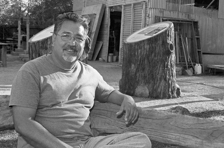 Carlos Cortés (Faux Bois Concrete Sculptor)
