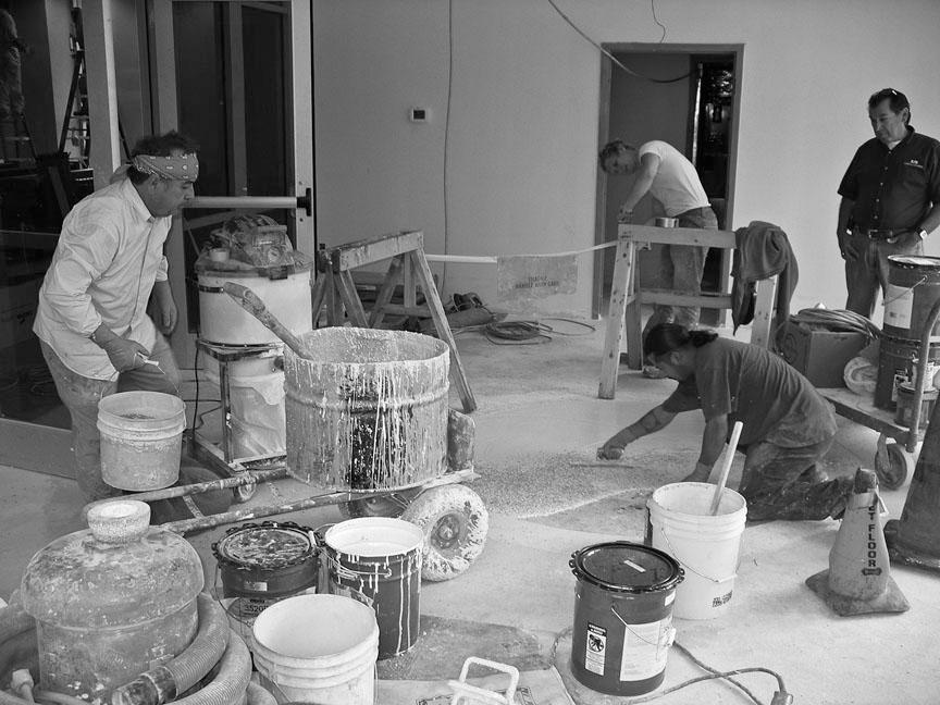 Filippo Crew At Work