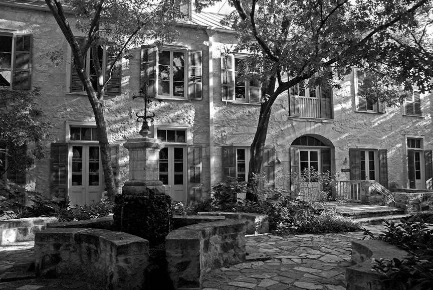 Hall - Southwest Craft Center Courtyard